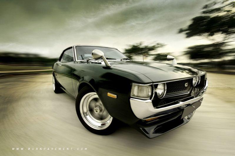Back To The Old Skool Toyota Celica Ta22