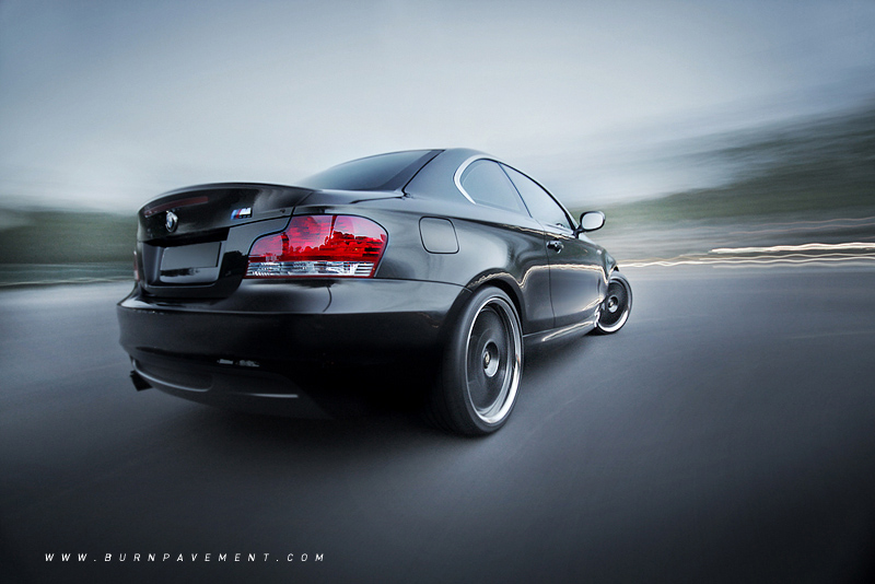Black Is Back BMW I Coupe - Bmw 135i tune