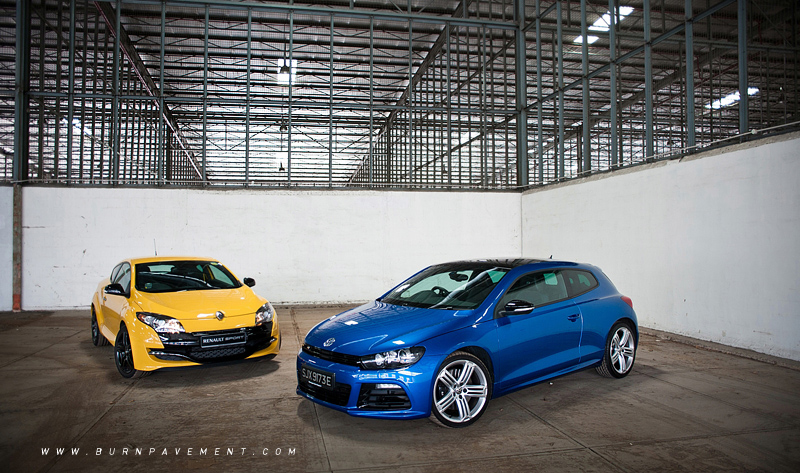 volkswagen scirocco r black. Megane RS or Scirocco R? We