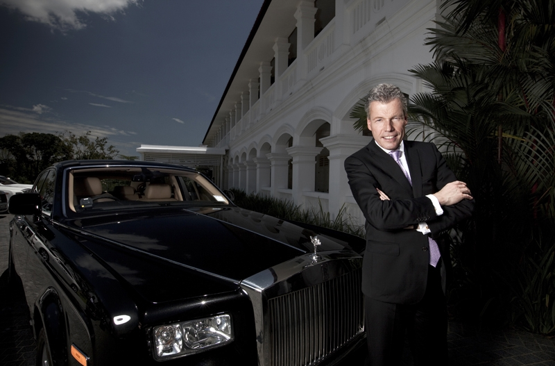 Up Close And Personal With Rolls Royce Motor Cars Ceo Mr Torsten Muller Otvos