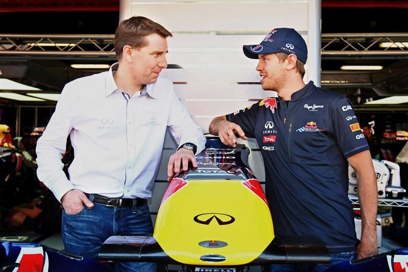 Sebastian Vettel Is Infiniti's New Global Brand Ambassador