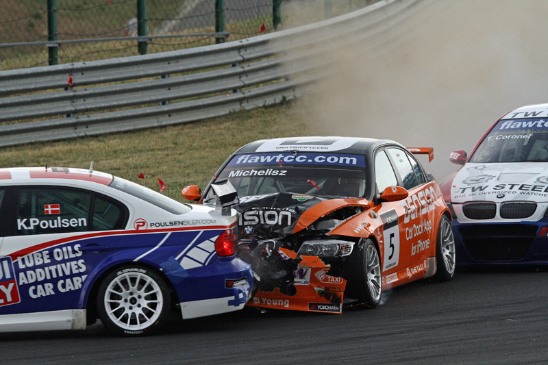 chevrolet wins again before hungarian crowd