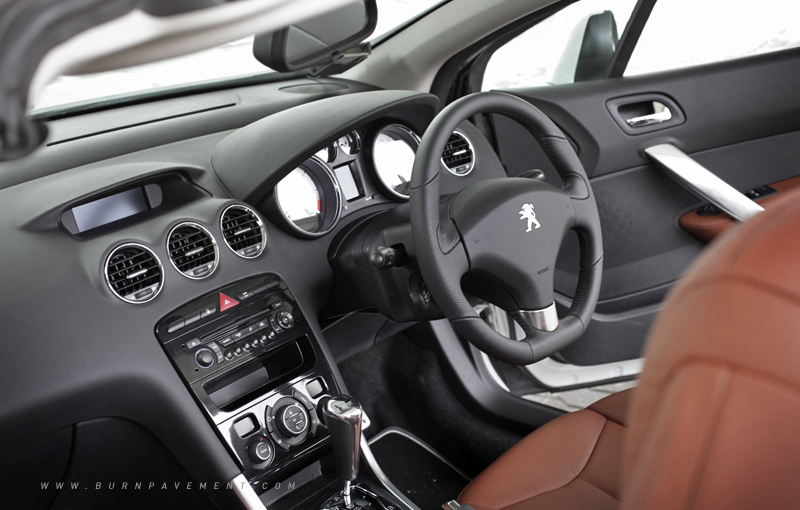French Open Peugeot 308 Cc