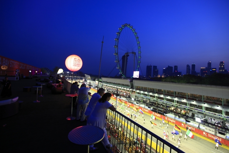 Singapore 39 s f1 race tickets selling fast more for 24543 vantage point terrace