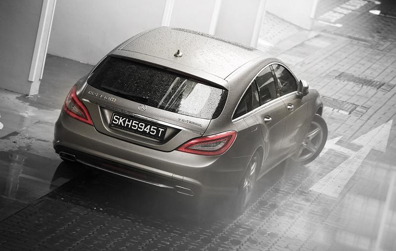 Mercedes benz cls350 shooting brake for Mercedes benz daimler chrysler