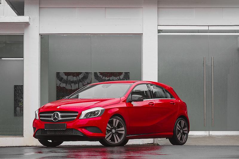 The Baby Benz Grows Up   Mercedes-Benz A200 Urban