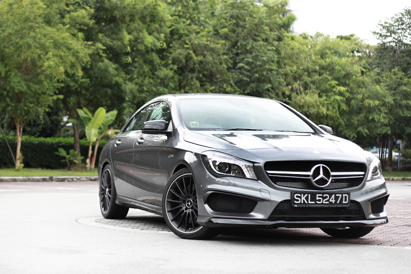 Rocket sedan mercedes benz cla45 amg for Mercedes benz financial login