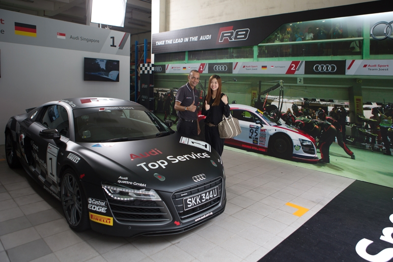 Customers Surprised With Audi Sport Service Shuttle - Audi car service