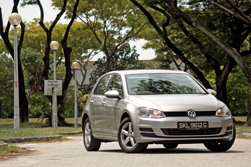 the singapore car | volkswagen golf 1.2 tsi