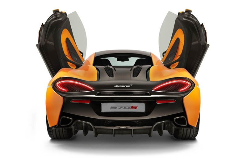 The intricately designed dihedral doors a McLaren design signature since the iconic F1 possess a three dimensional form including a \u0027floating\u0027 door tendon ...  sc 1 st  Burnpavement.com & New McLaren 570S Finally Debuts