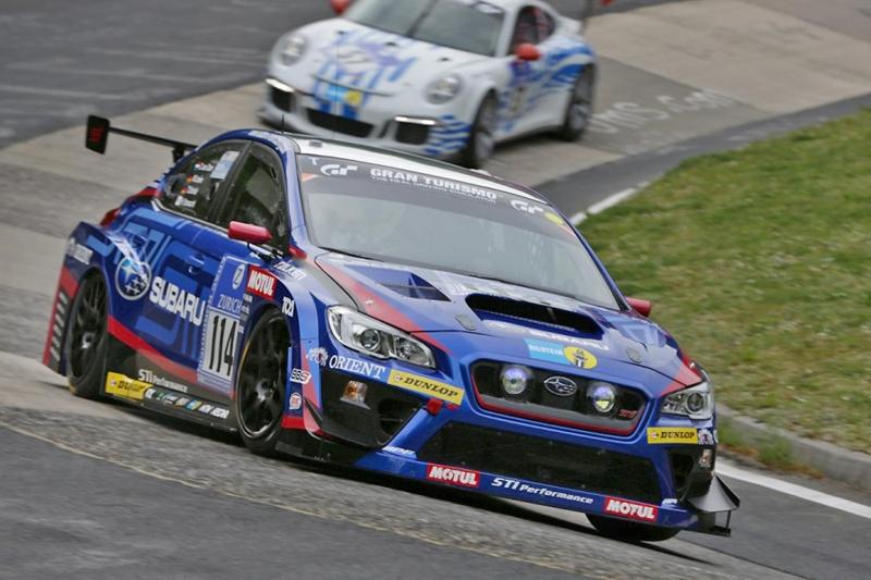 Subaru S Third Nurburgring 24 Hours Victory