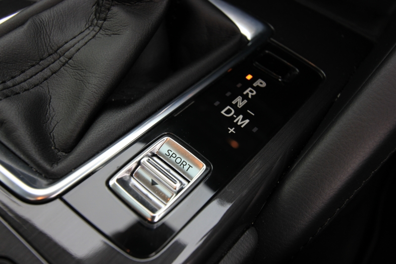 Manual mode with this gearbox means you get full control - the car won't shift up for you, even at the redline