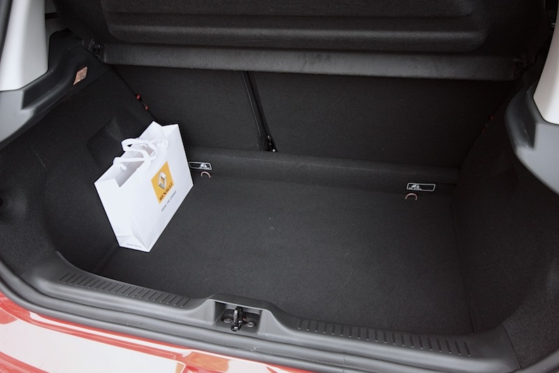 300-litre boot capacity provides decent storage space