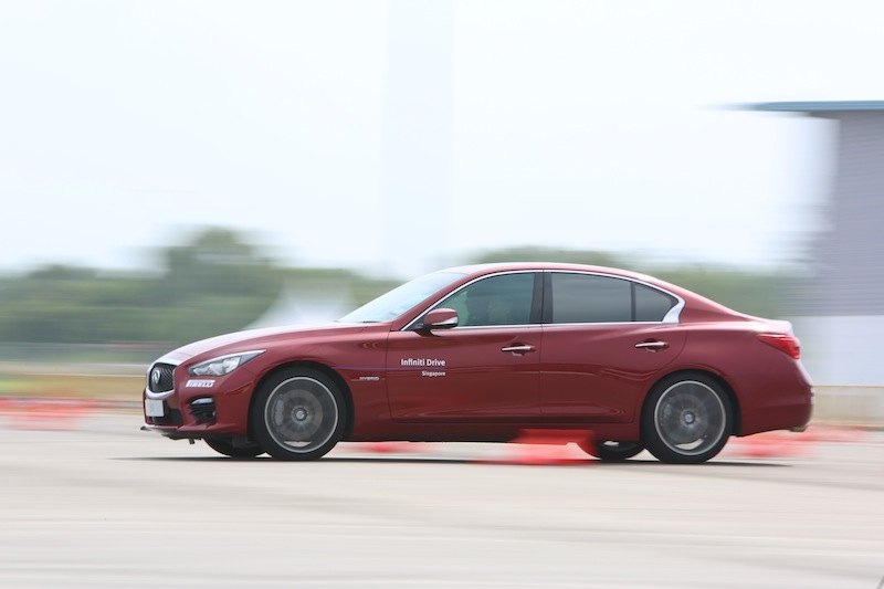 The DAS-fitted Q50