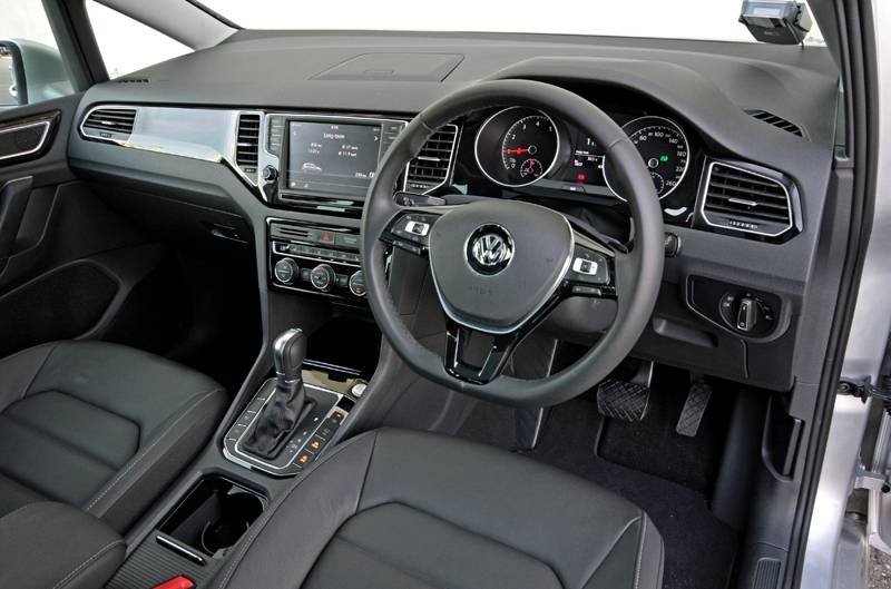 Driving position is spot on; has to be among the best from Volkswagen