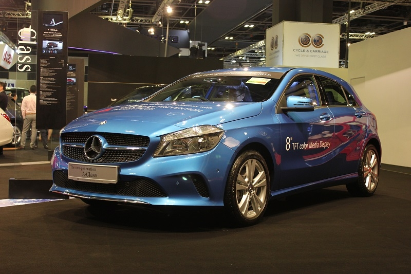 New cars of the singapore motorshow 2016 part 2 for Mercedes benz singapore
