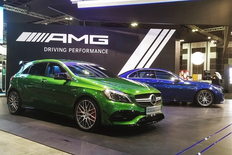 Mercedes A45 AMG (and C63 AMG)