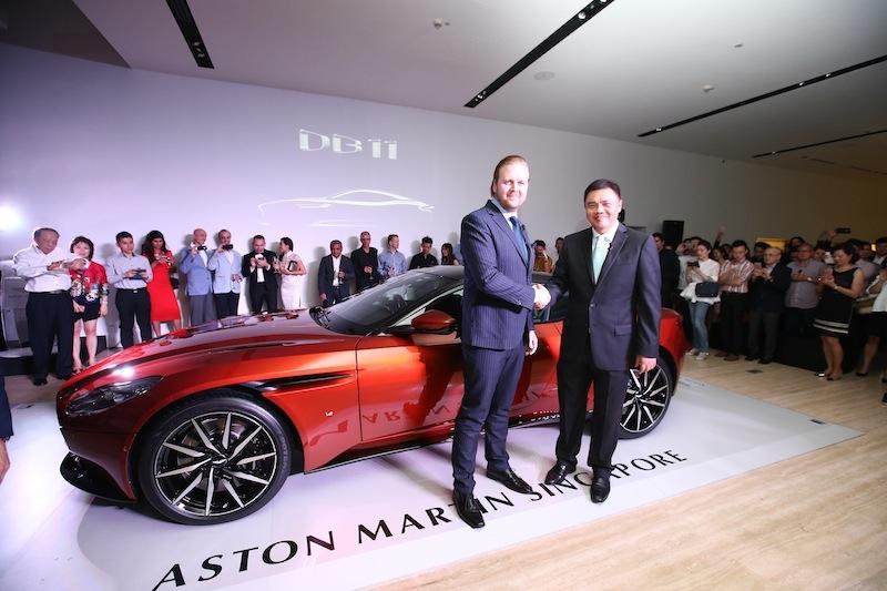 Singapore Gets Aston Martin S Db11
