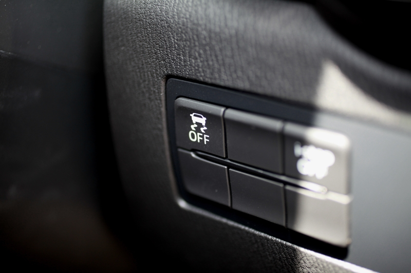 Traction control system can also be switched off. 'i-stop' automatic engine start/stop another standard fixture