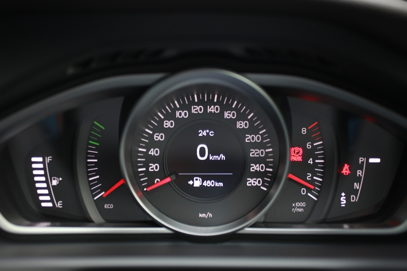 'Eco' indicator informs you (a) when you're driving too hard, and (b) when you're doing Mother Nature a big favour