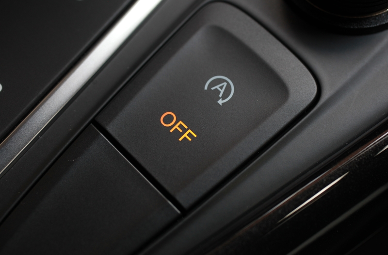 To keep up with the current trend, auto start/stop comes standard - an intrusive item you really do not need