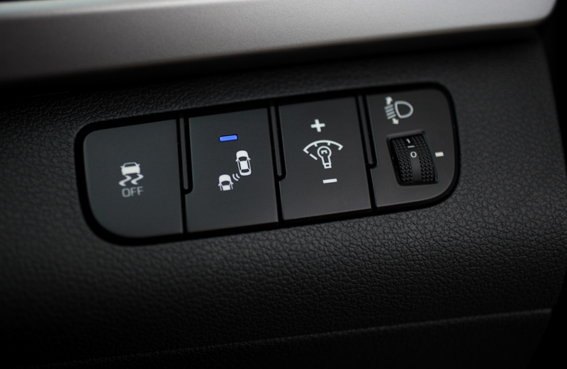 Traction control and blindspot monitor are highly welcomed equipment for a family sedan in this price bracket