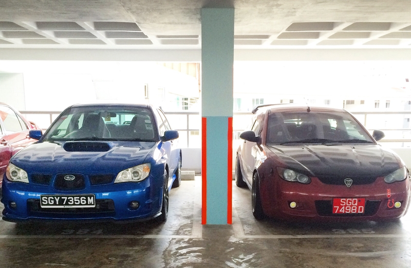 The day I brought Rexy the Subaru WRX home, and prepare to bid farewell to Neo the Proton Satria Neo