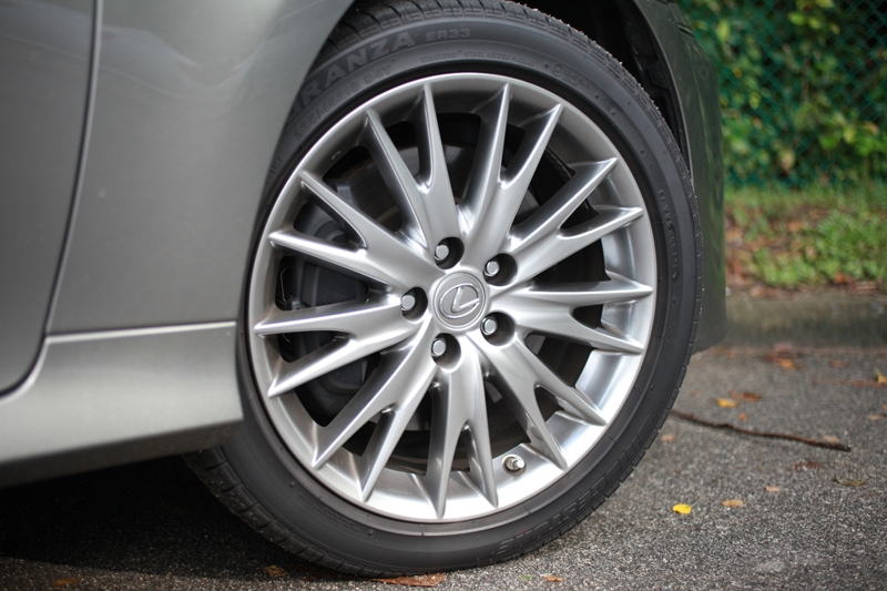 18-inch alloys a standard affair
