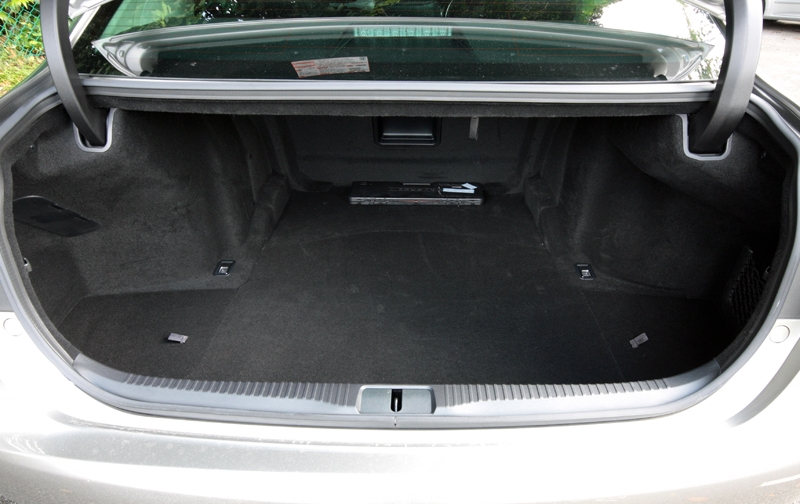 More than 500-litres worth of space in the boot