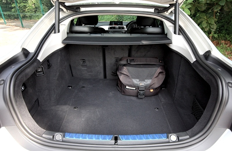 480-litres at your disposal; bring the seat's backrest down and this increases significantly to 1,300-litres