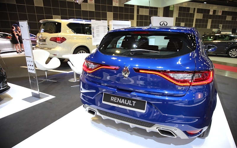 Newest Megane has an attractive behind - must love the French for their styling