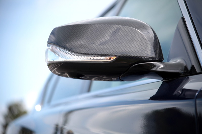 Carbon fibre wing mirrors -