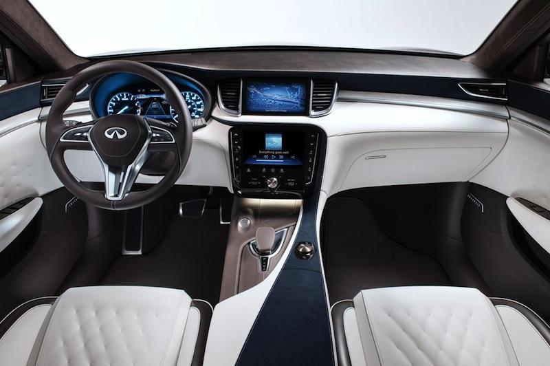 Infiniti's QX50 Concept To Debut