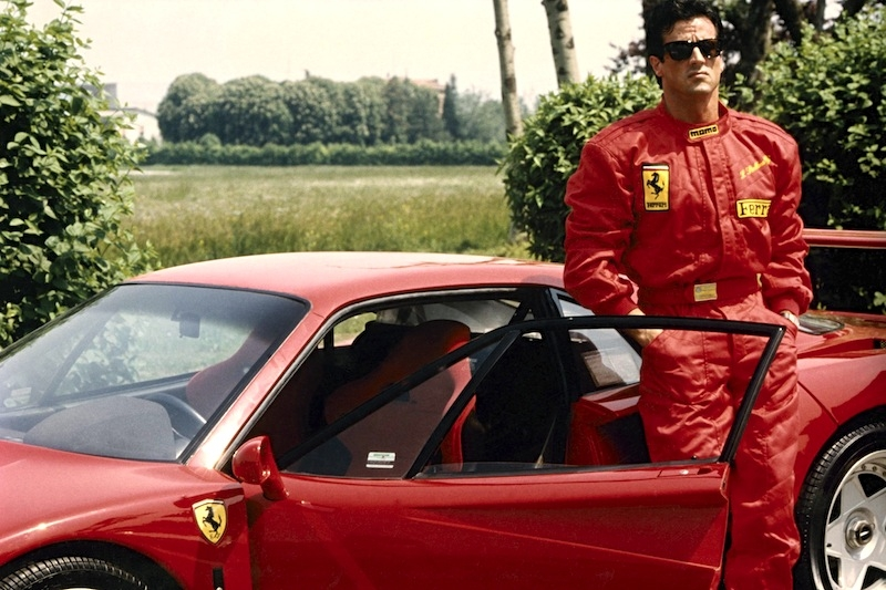 Even blockbuster star Sylvester Stallone made the trip to Fiorano in 1990 to sample the F40 himself