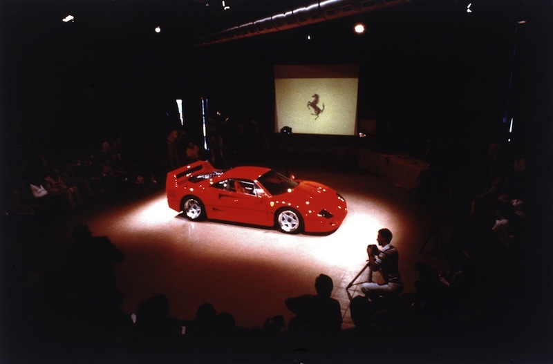 21 July 1987, the day the F40 was officially revealed to the world