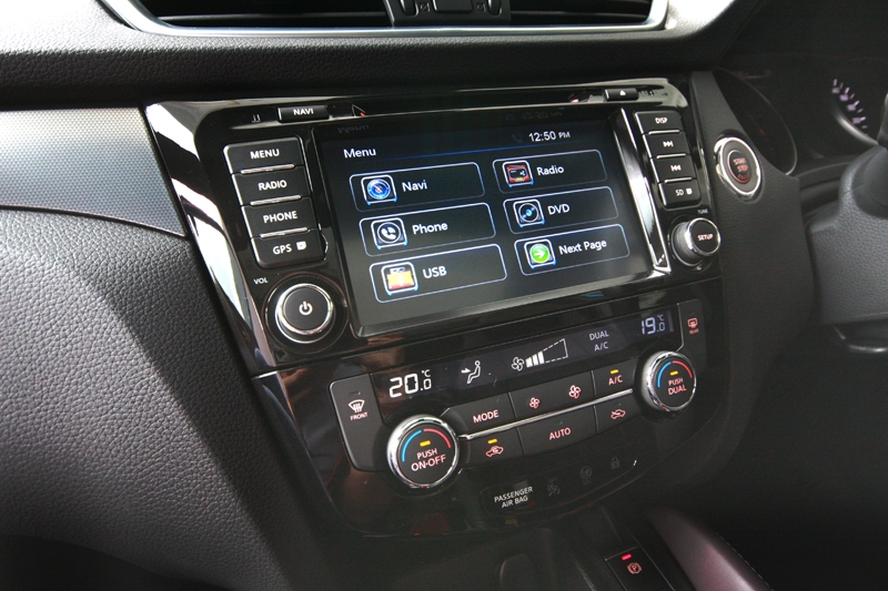 Multimedia head-unit gets better graphic this time around and better user-friendliness