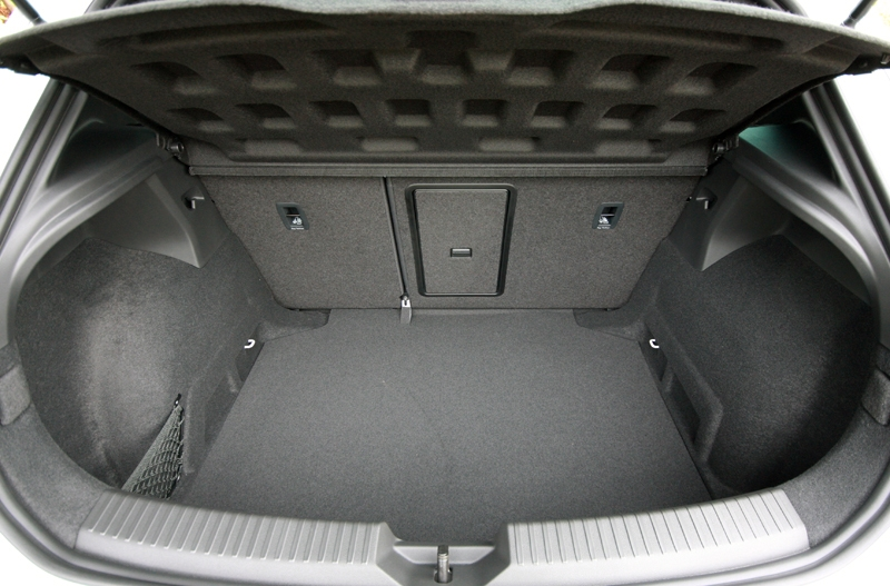 380-litres capacity, similar to the Golf