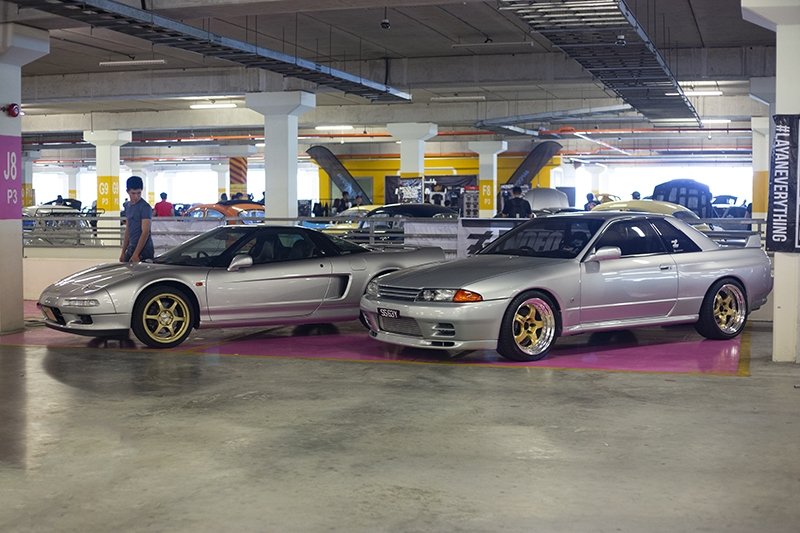 NA1 NSX and R32 Skyline twins.