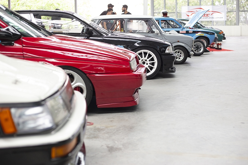 All these cars are participants in the Asia Classic Car Challenge (ACCC).