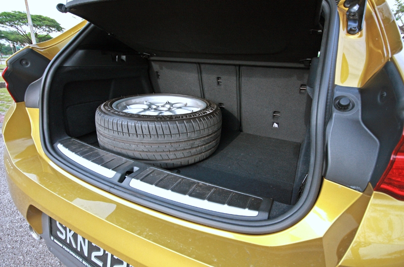 470-litres boot space is generously sized for its segment