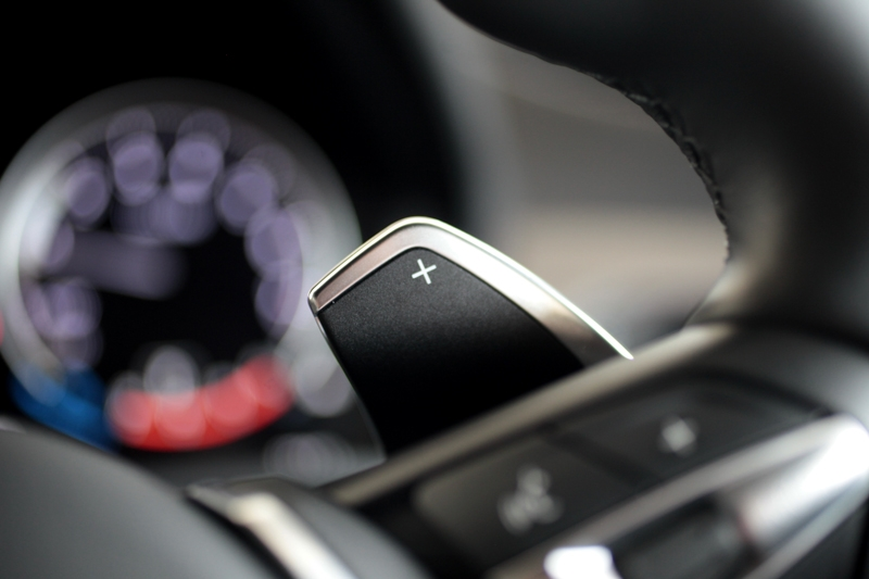 Paddle-shifters a standard feature