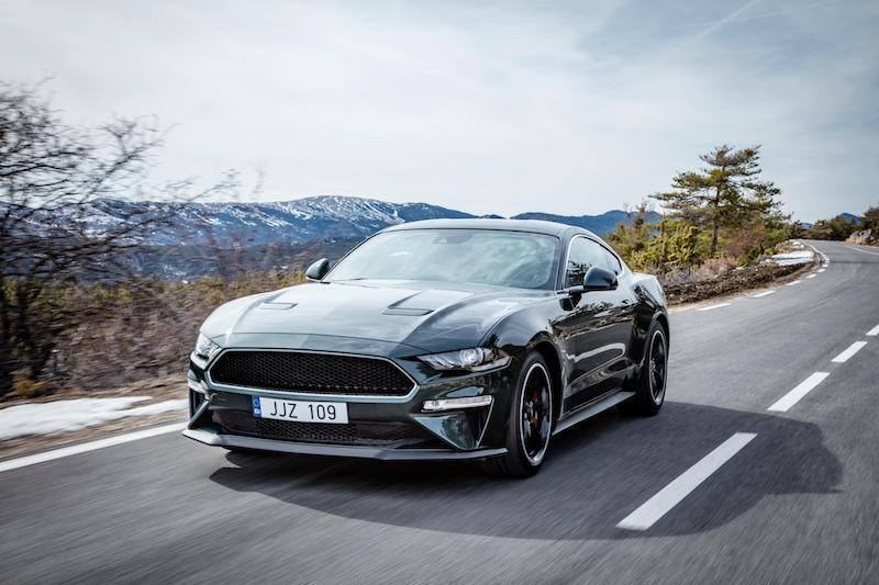The Ford Mustang Bullitt - this limited edition Mustang was sold out in the U.K