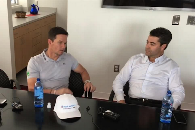 Mark Wahlberg with his business partner, Jay Feldman