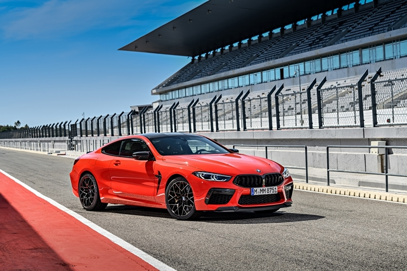 The first-ever BMW M8 Competition Coupé