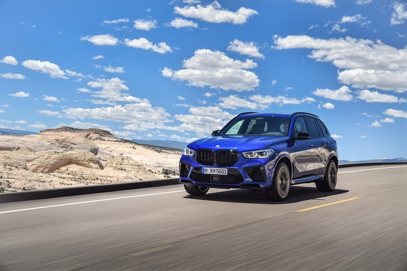 The first-ever BMW X5 M Competition