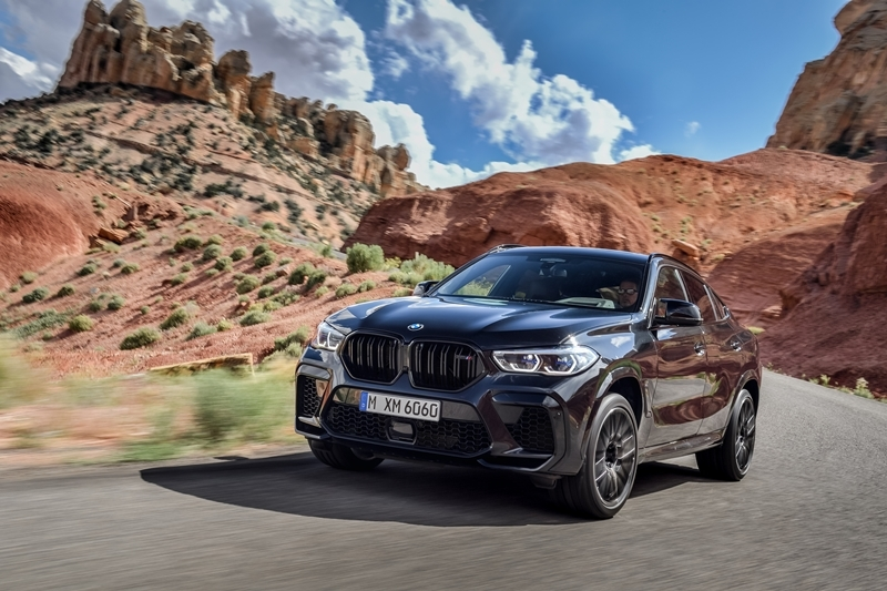 The first-ever BMW X6 M Competition