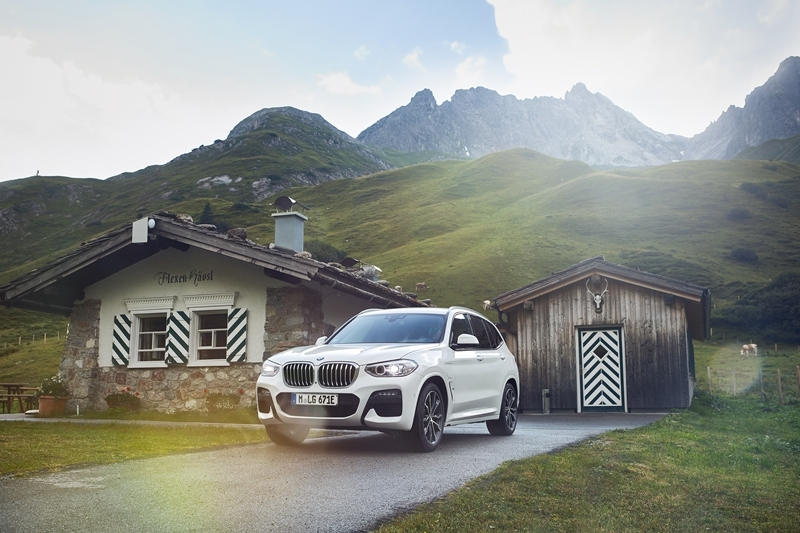 The new BMW X3 plug-in hybrid.