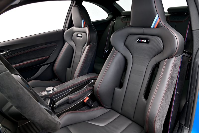 Interior Leather trims in the new BMW M2 CS