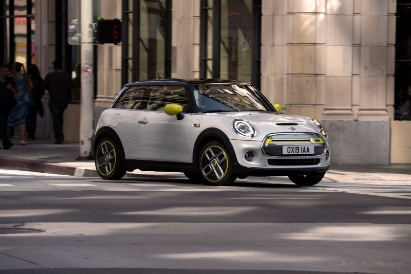 The first-ever MINI Electric