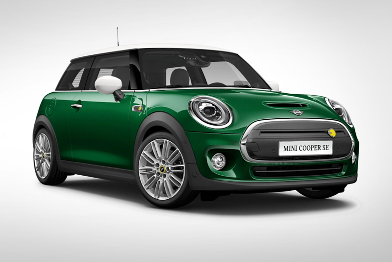Our choice configuration of the new MINI Electric!